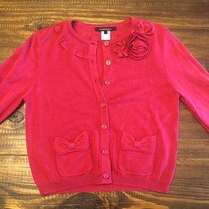 Pink Nanette Lepore cardigan